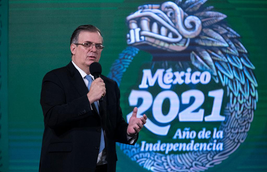 Mexico Foreign Minister Marcelo Ebrard