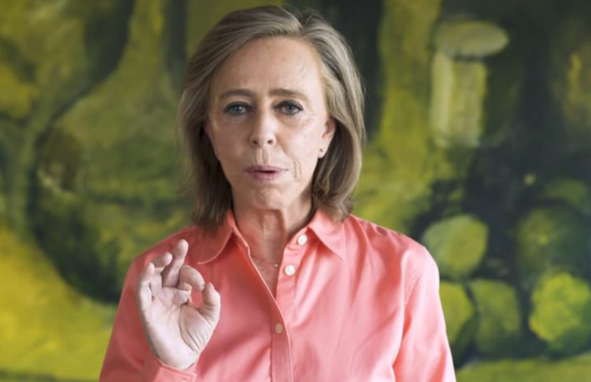 Head of Mexicans Against Corruption and Impunity Maria Amparo Casar