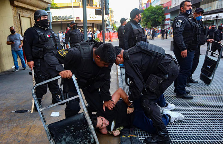 police brutality Mexico