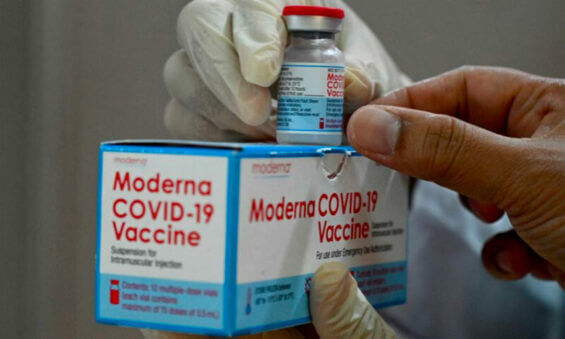 US to ship Moderna vaccines this week.